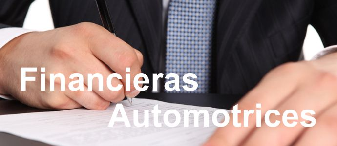 Financieras Automotrices